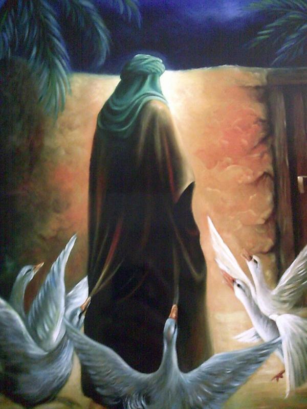 ولادت امام علی(ع),امام علی(ع),دوران کودکی امام علی(ع)