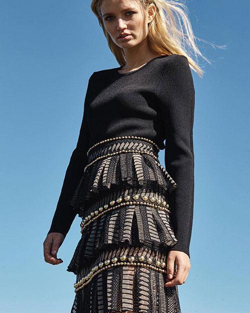 هلن اوکنر,طراح مشهور لباس زنانه,مصاحبه با هلن اوکنر