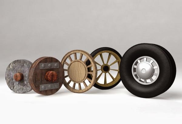 نسل سوم اختراع چرخ,اختراع چرخ,نسل چهارم اختراع چرخ