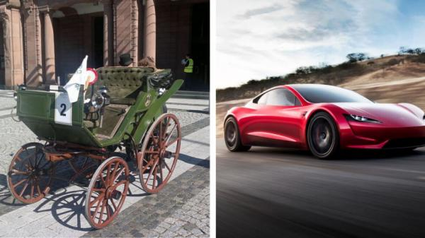 تاریخچه حمل و نقل در جهان,اختراع اتومبیل,تاریخچه ی اختراع ماشین