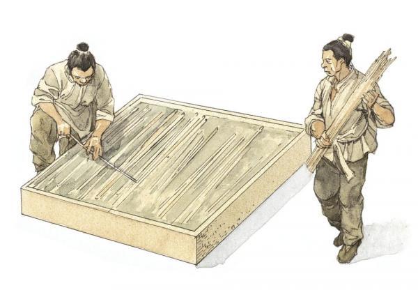 اختراع کاغذ توسط چینی ها,تاثیر اختراع کاغذ در تاریخ,اختراع کاغذ