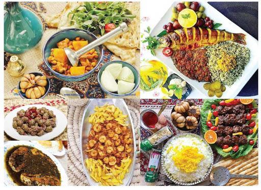 خوراکهای رایج برخی اقوام ایرانی,انواع مواد غذایی رایج در گیلان,منطقه های متنوع از نظر غذایی در ایران,سنت های غذایی مرسوم در ایران,غذاهای متداول در سیستان و بلوچستان