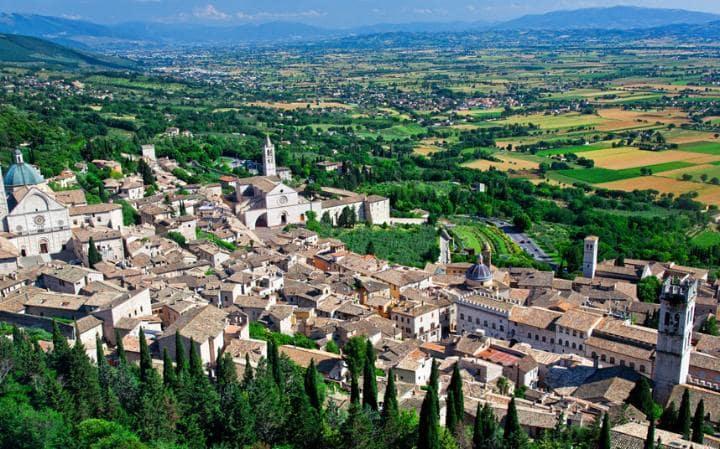 ایتالیا,عکس جاذبه های ایتالیا,آسیسی