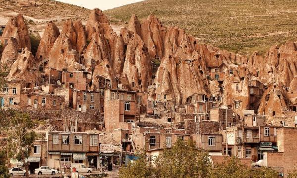 جاذبه های دیدنی روستای کندوان,روستای کندوان,آدرس روستای کندوان
