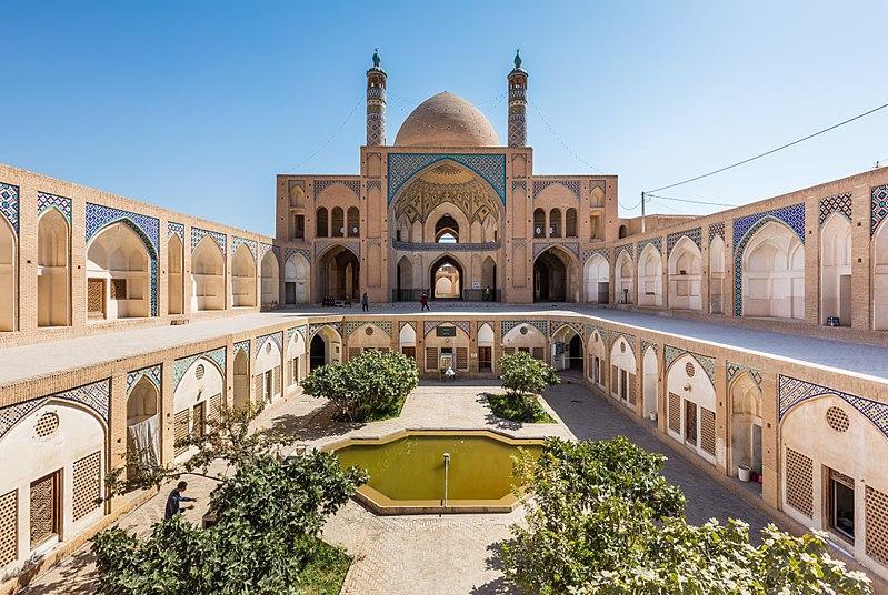 کاشان,جاذبه های دیدنی کاشان,مسجد آقابزرگ کاشان
