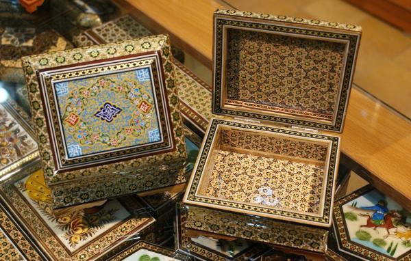ساعت خاتم کاری,خاتم کاری,خاتم کاری اصفهان هنری