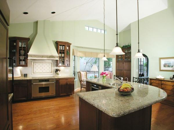 دکوراسیون اپن آشپزخانه,مدل اپن آشپزخانه,اپن آشپزخانه جدید