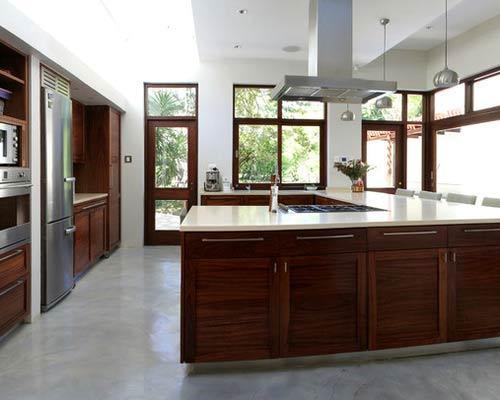 اپن آشپزخانه,نمای اپن آشپزخانه,تصاویر اپن آشپزخانه