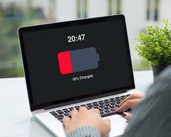 مشکل باتری لپ تاپ,باتری لپ تاپ,علت شارژ نشدن باتری لپ تاپ