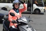 تاکسی موتوری زنان در لبنان,اخبار جالب,خبرهای جالب,خواندنی ها و دیدنی ها