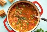 سوپ جو,سوپ جو خوشمزه,طرز تهیه سوپ جو با مرغ