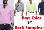 رنگ لباس برای پوست سبزه,انواع رنگ لباس برای پوست سبزه,رنگ لباس مشکی برای پوست سبزه