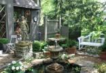 تزیین باغ,جدیدترین طراحی باغ, ساخت دیواره های کوتاه برای تزیین باغ