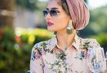 مدلهای بستن روسری,روسری,مدلهای بستن روسری مخصوص تابستان