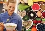 رژیم پروتئین,رژیم پروتئین و میوه,رژیم پروتئین چربی سوزی