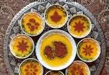 آموزش پخت شله زرد,طرز تهیه شله زرد,تزئین شله زرد