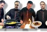 آشپزی باخلاقیت,تردستی با خوراکیها،آشپزی با تردستی