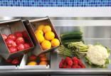 شستن میوه و سبزیجات,آموزش شستن میوه و سبزیجات,شیوه صحیح شستن میوه و سبزیجات