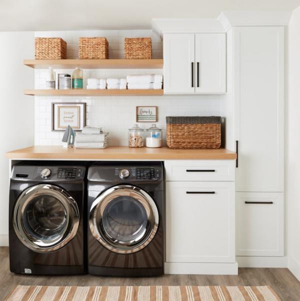 لوازم مورد استفاده در لاندری روم,اتاق لباسشویی,ویژگیهای اتاق لباسشویی