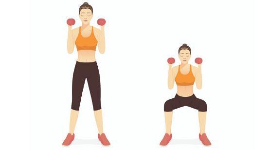 تمرین اسکوات برای لاغر کردن ساق پا,روش لاغر کردن ساق پا,لاغر کردن ساق پا با وزنه,لاغر کردن ساق پا