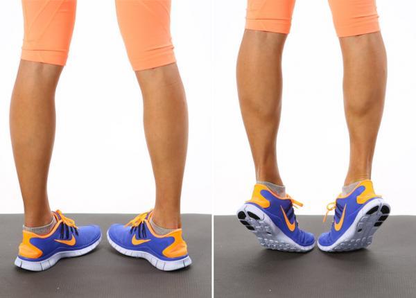 لاغر کردن ساق پا با ورزش,لاغر کردن ساق پا,نحوه لاغر کردن ساق پا