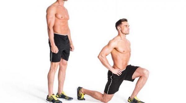نحوه لاغر کردن ساق پا,لاغر کردن ساق پا,لاغر کردن ساق پا با تمرین لانگ