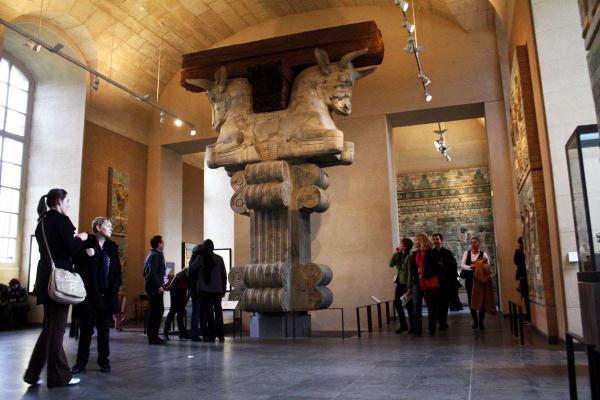 موزه لوور,آثار ایرانی در موزه لوور,زیباترین اجسام تاریخی ایران در موزه لوور
