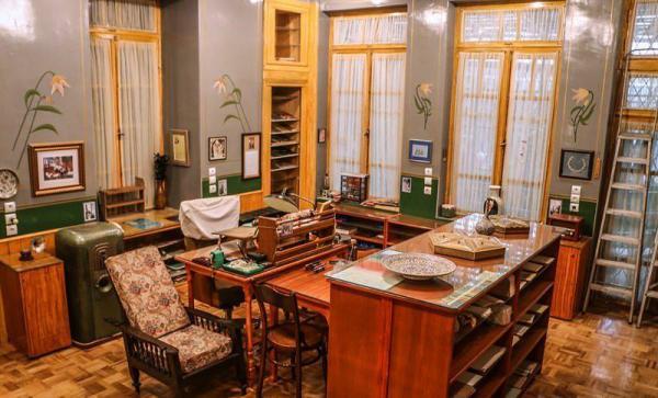 موزه دکتر حسابی آدرس,بخش های مختلف موزه دکتر حسابی,موزه دکتر حسابی