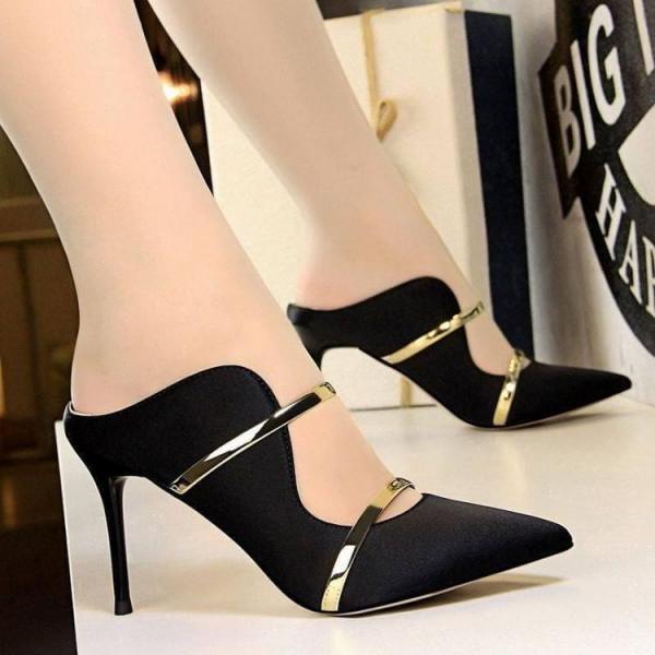کفش مجلسی زنانه,کفش مجلسی,مدل کفش مجلسی مشکی زنانه