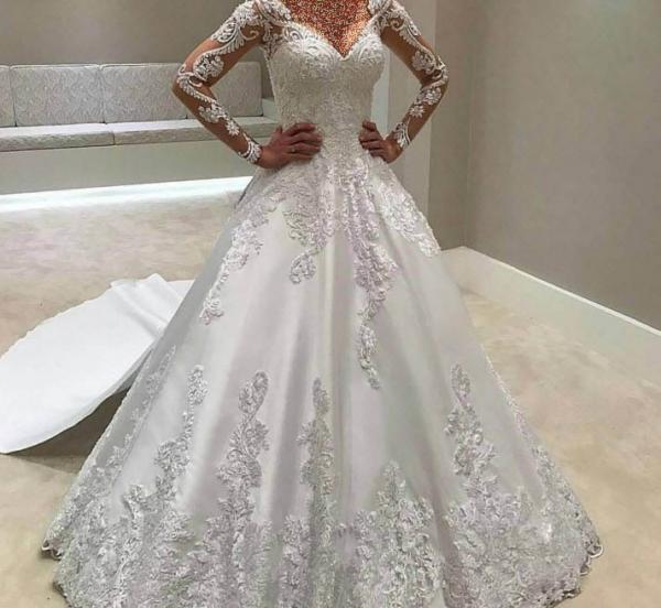 مدل لباس عروس,جدیدترین مدل لباس عروس,مدل لباس عروس دخترانه