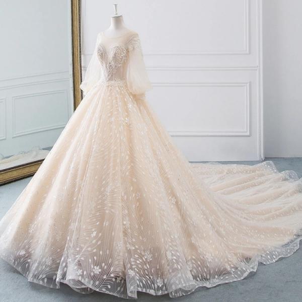 مدل لباس عروس اروپایی,مدل لباس عروس پرنسسی,مدل لباس عروس