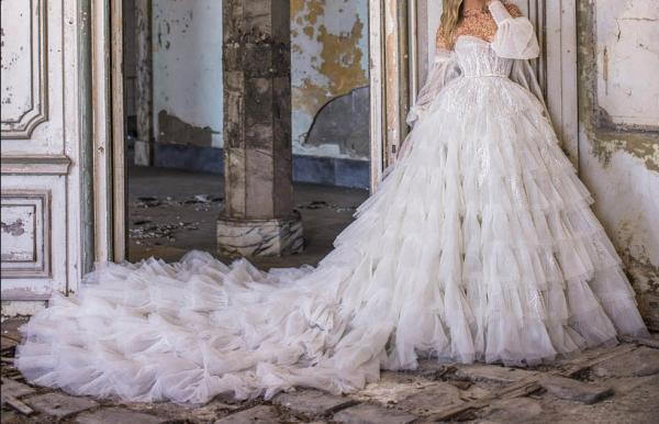 مدل لباس عروس شیک,مدل لباس عروس اروپایی,مدل لباس عروس