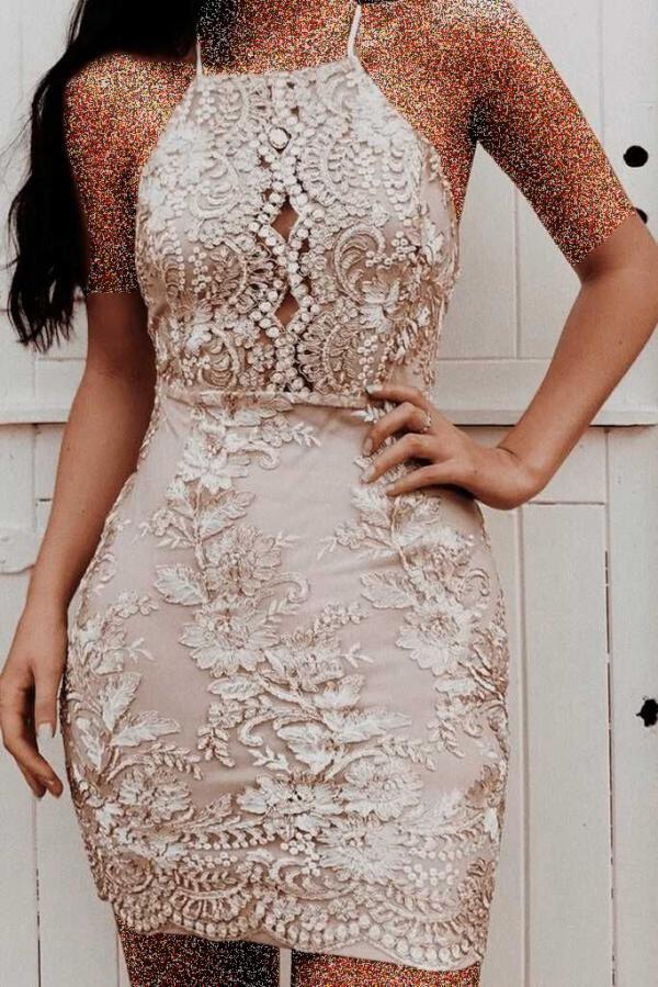مدل لباس مجلسی کوتاه,مدل لباس مجلسی کوتاه با گیپور,مدل لباس مجلسی کوتاه دخترانه