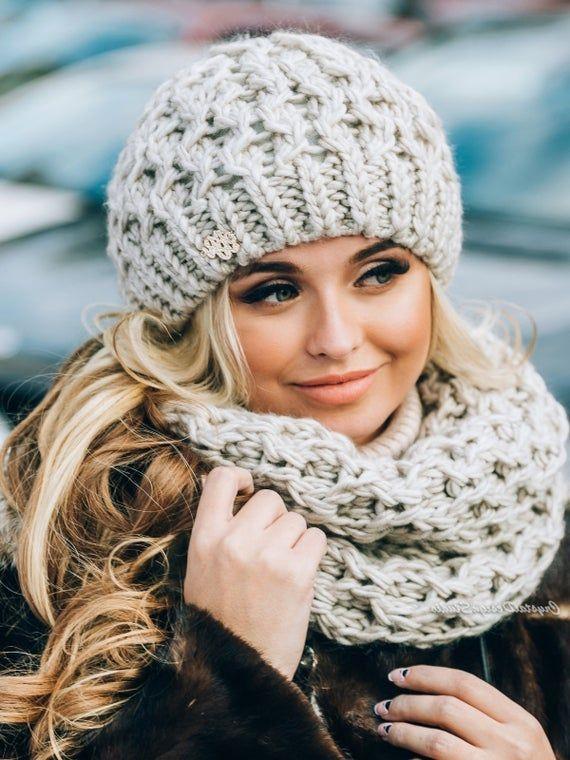 مدل شال و کلاه زنانه,مدل شال و کلاه زنانه برای زمستان,عکس از مدل شال و کلاه زنانه