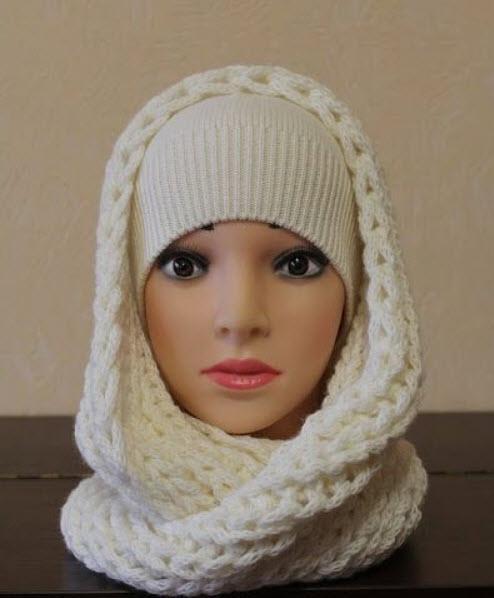 مدل شال و کلاه زنانه شیک,مدل شال و کلاه زنانه,مدل شال و کلاه زنانه ساده