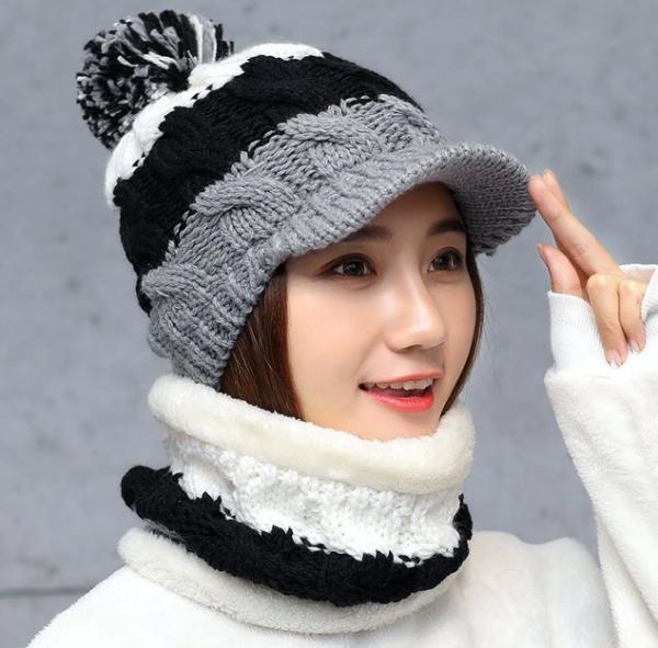 تصاویر مدل شال و کلاه زنانه,مدل شال و کلاه زنانه,عکسهای مدل شال و کلاه زنانه