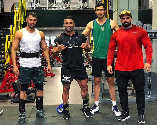 آمادگی بدنی مجتبی میرزاجانپور,مجتبی میرزاجانپور,تمرینات مجتبی میرزاجانپور