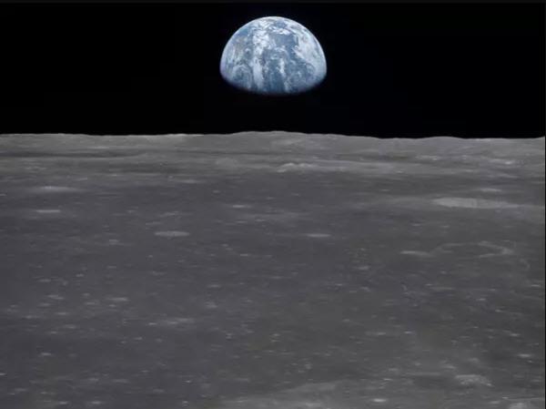 تصویر زمین از کره ماه,عکسهای کره ماه,ماه