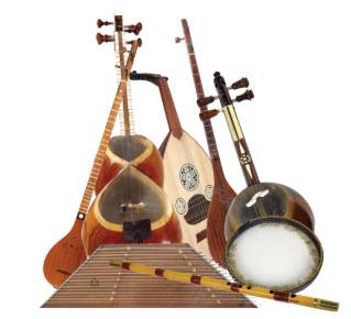 سازهای ایرانی,ثبت جهانی ساز بربط,کتاب موسیقی الکبیر