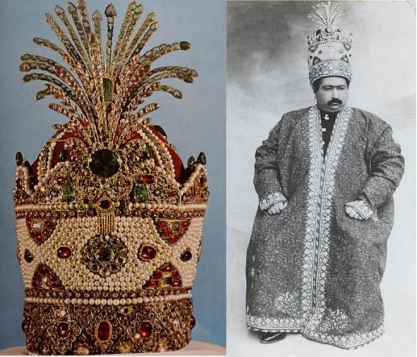 کره جواهر نشان,موزه جواهرات ملی,تخت طاووس