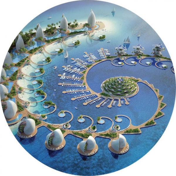 ویژگی های شهرهای شناور دراقیانوسها,ویژگی های شهرهای دریایی,آشنایی با طرح شهر شناور