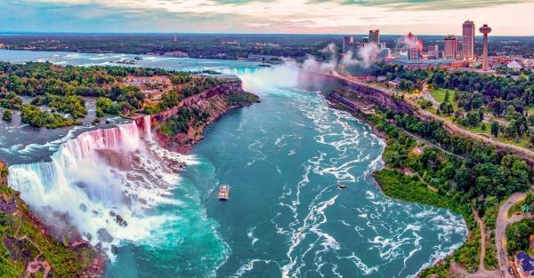 تصاویر آبشار نیاگارا,آبشار نیاگارا,رفتن به آبشار نیاگارا