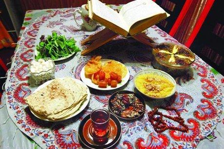 تغذیه مناسب در ماه رمضان,اصول تغذیه درماه رمضان,تغذیه سالم درماه رمضان