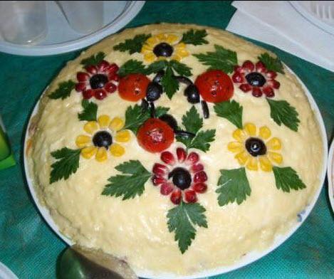 طرز تهیه سالاد الویه با مرغ,سالاد الویه,دستور پخت سالاد الویه
