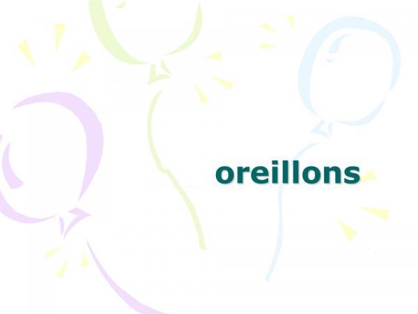 اوریون,عامل بیماری اوریون,علائم بیماری اوریون در بزرگسالان