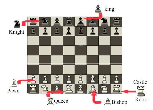 قوانین شطرنج,تاریخچه شطرنج,شطرنج