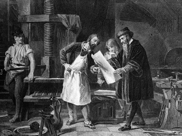روش اختراع چاپ کتاب,اختراع چاپ,اختراع چاپ کتاب
