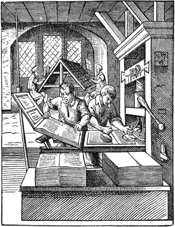اختراع ماشین چاپ,اختراع چاپ,اختراع چاپ چیست