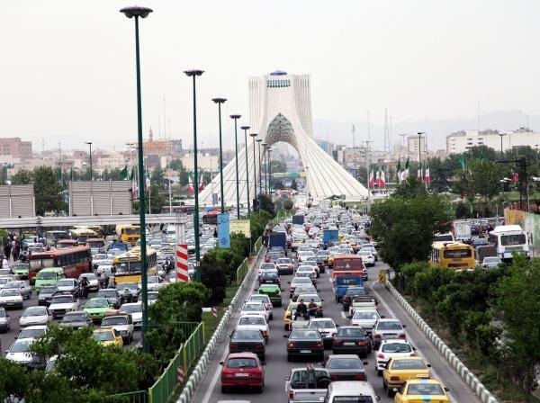 وسایل نقلیه در غرب و شرق تهران