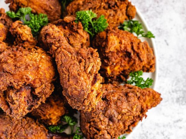 روش تهیه مرغ سوخاری,روش پخت مرغ سوخاری,مرغ سوخاری